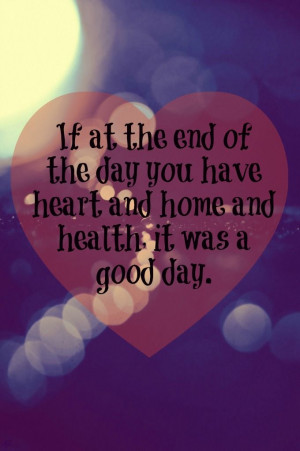 heart, home & health ~ KC