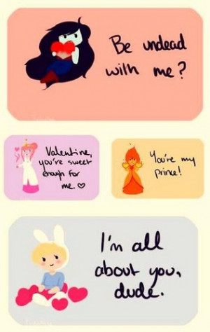 Adventure Time With Finn and Jake Love Quotes