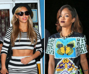 Rihanna Disses Beyonce On Instagram: Not All Girls Love Her
