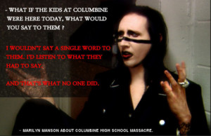 Marilyn Manson motivational inspirational love life quotes sayings ...