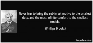 More Phillips Brooks Quotes