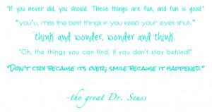 quotes, thoughts, inpiration, dr. seuss, dr seuss, dr suess, dr. seuss ...