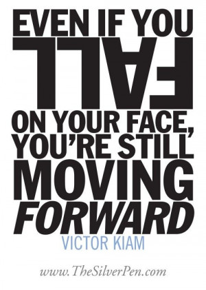 Falling - Victor Kiam - Inspirational Picture Quotes About Life | The ...