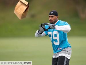 Mark Sanchez didn't throw this pass. (Original image via AP ...