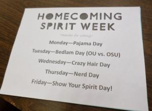 Spirit Week Dress Up Ideas The resulting spirit week