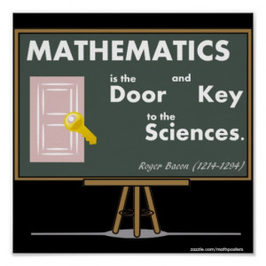 Mathematics Posters Quotes