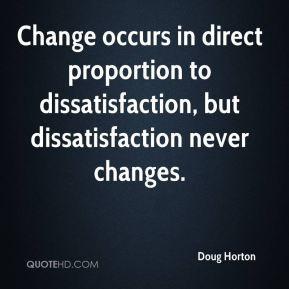 Douglas Horton Change Quotes