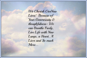 Organ+Donation+Quotes | Organ Donor Appreciation Quotes