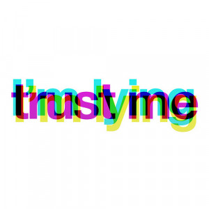 ... quote sad design true colorful bright neon Abstract Trust me i'm lying