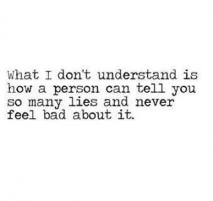 Compulsive liar... I've been asking myself this question for years now