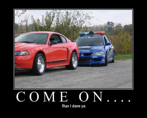car-joke-funny-humor-mitsubishi-evo-lancer-ford-mustang-police-race ...