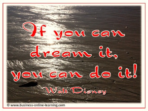 Write A Mission Statement Quote from Walt Disney