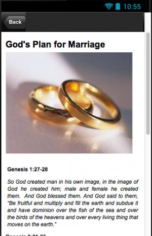 Marriage Bible Verses - screenshot