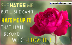 love hate quotes for her