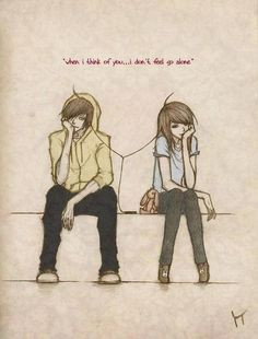 cartoon drawing couple quote simon more drawings couple cute couple ...