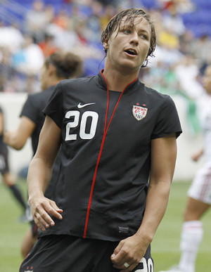 women s national team forward abby wambach has only scored once