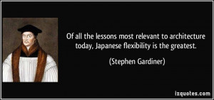 Of all the lessons most relevant to architecture today, Japanese ...