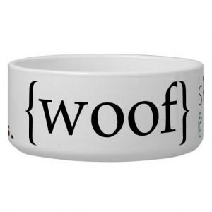 Customized Dog Bowls