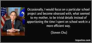 More Steven Chu Quotes