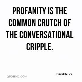 Quotes About Profanity