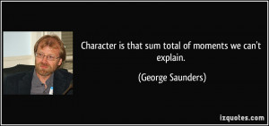 More George Saunders Quotes