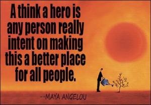 Hero quote