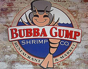 Bubba Gump Shrimp Restaurant And Market Forrest