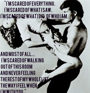 Quote from Dirty Dancing