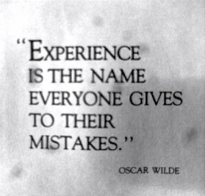 Oscar Wilde quotes are my favorite!