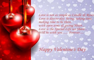 Happy Valentines Day 2015 Quotes , Greetings , Wishes , Sms