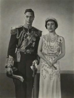 King George VI and the Queen Mother. Albert ascended to the throne ...