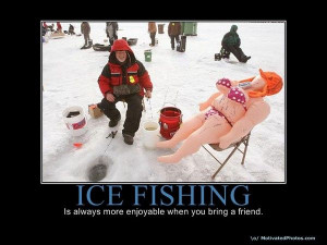 Funny Quotes About Ice Fishing