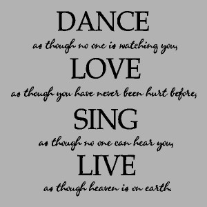 Words Hurt Quotes Dancing wall quotes words