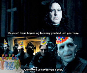 Happy Birthday Snape
