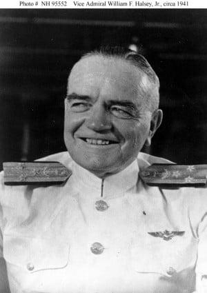 Halsey, William Frederick, Jr. (1882-1959)