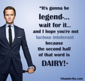 Legendary Barney Stinson quotes - Likes