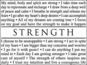 Equipped With Strength