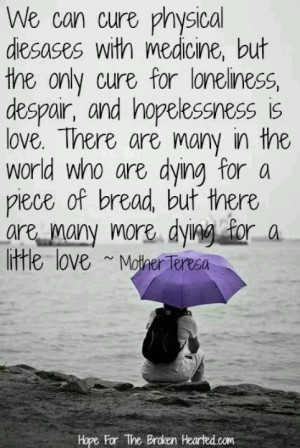 Mother Teresa's Quote.