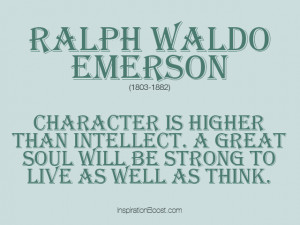 Strong Quotes – Ralph Waldo Emerson