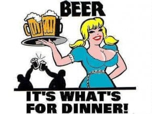 Beer It's What's For Dinner…
