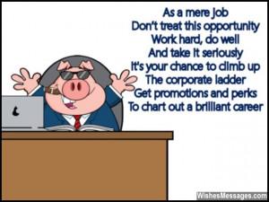 Good Luck Poems For New Job: New Job Poems