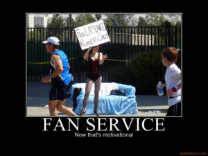 Running Humor » Funny Running Pictures » Free Lap Dance