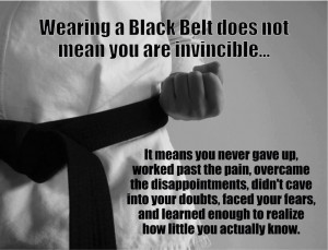 What Does Black Belt mean to you!