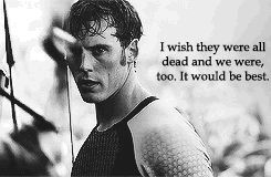 Hunger Games Quote / Finnick