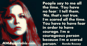 MMA Quotes, UFC Quotes, Motivational & Inspirational: Ronda Rousey ...