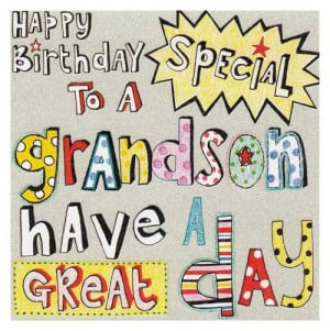Happy Birthday Grandson Messages