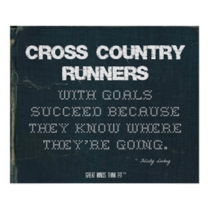 Cross Country Runners With