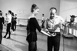 my favorites. Balanchine rehearses with dancer Suzanne Farrell for a ...