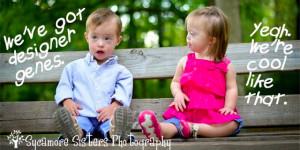 Down Syndrome Quote: Designer Genes