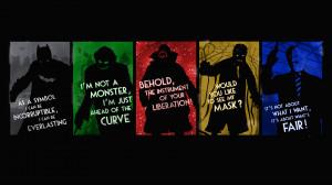 Movie - The Dark Knight Batman The Dark Knight Trilogy Joker Bane ...